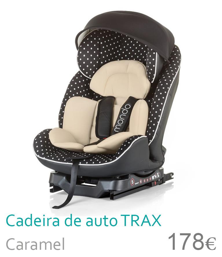 Cadeira de auto grupo 0+/1/2 Caramel