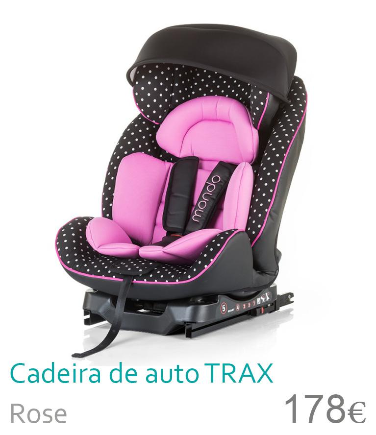 Cadeira de auto grupo 0+/1/2 MONDO Rose