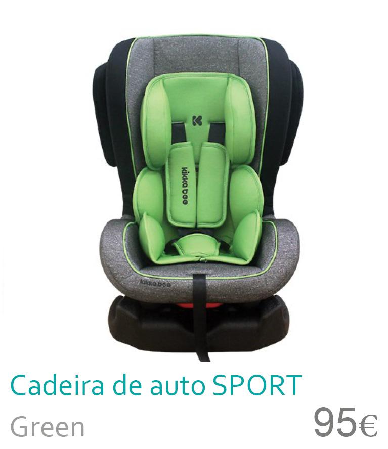 Cadeira de auto grupo 0+/1 SPORT Green