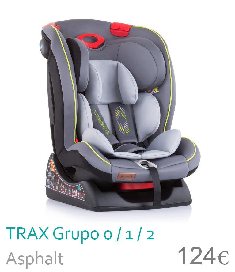 Cadeira de carro gruo 0/1/2 TRAX Asplaht