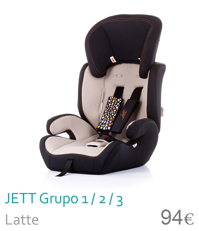 Cadeira de carro grupo 1/2/3 JETT Latte