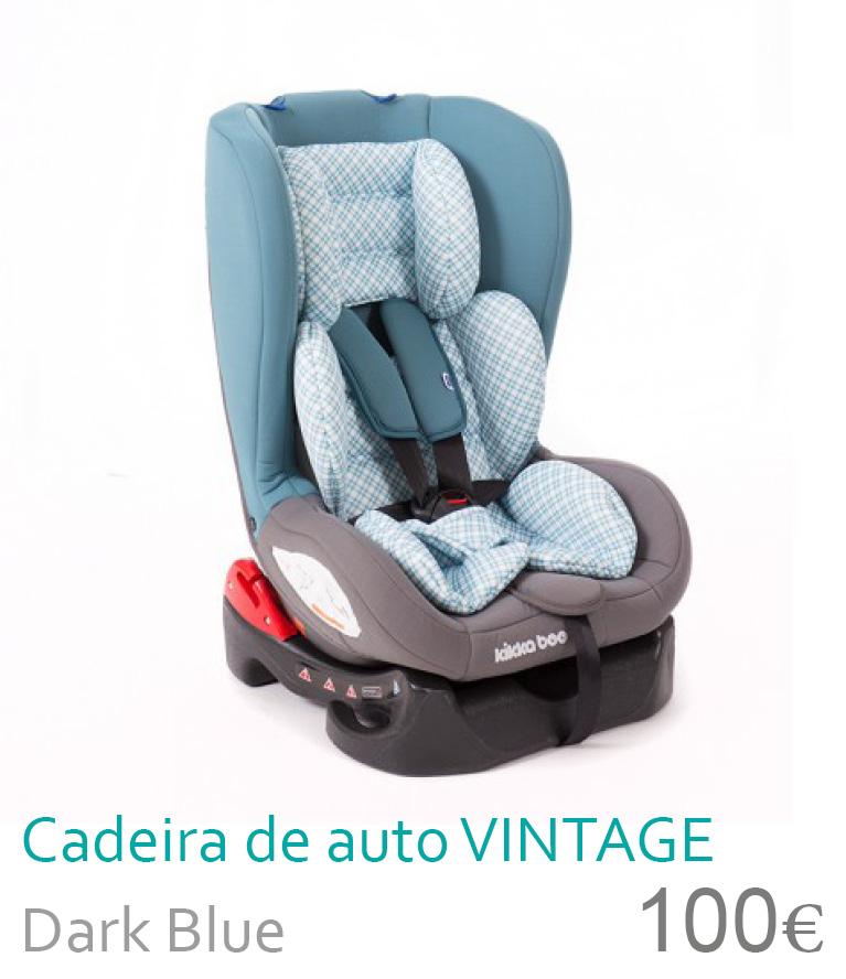 Cadeira de auto grupo 0+/1 Vintage Dark Blue