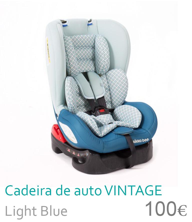 Cadeira de auto grupo 0+/1 Vintage light blue