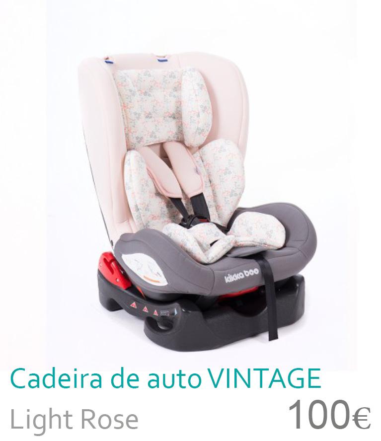 cadeira de auto grupo 0+/1 Vintage light rose