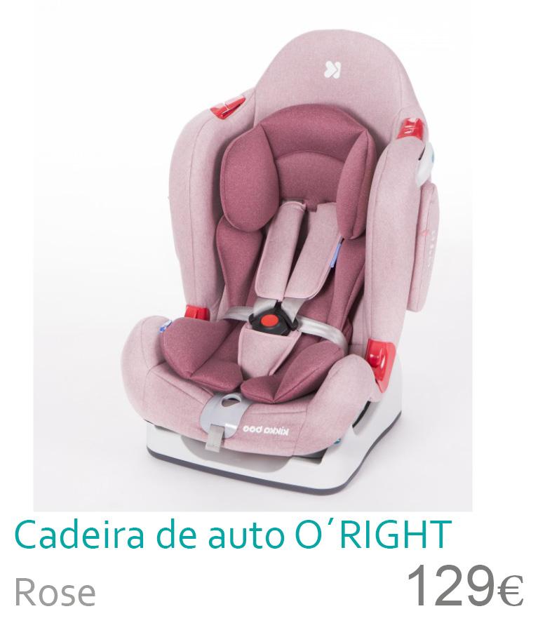 Cadeira de auto grupo 0+/1/2 Rose