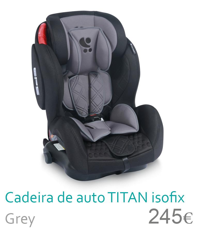 cadeira de auto TITAN Black&Grey