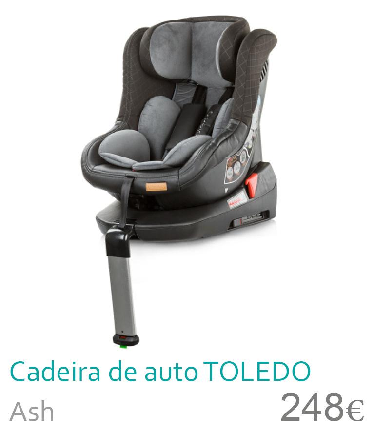 cadeira de auto 0+/1 Toledo Ash
