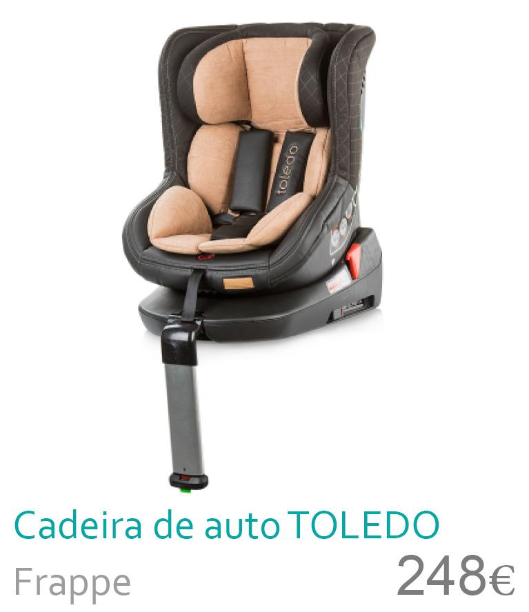 Cadeira de auto Toledo Frappe