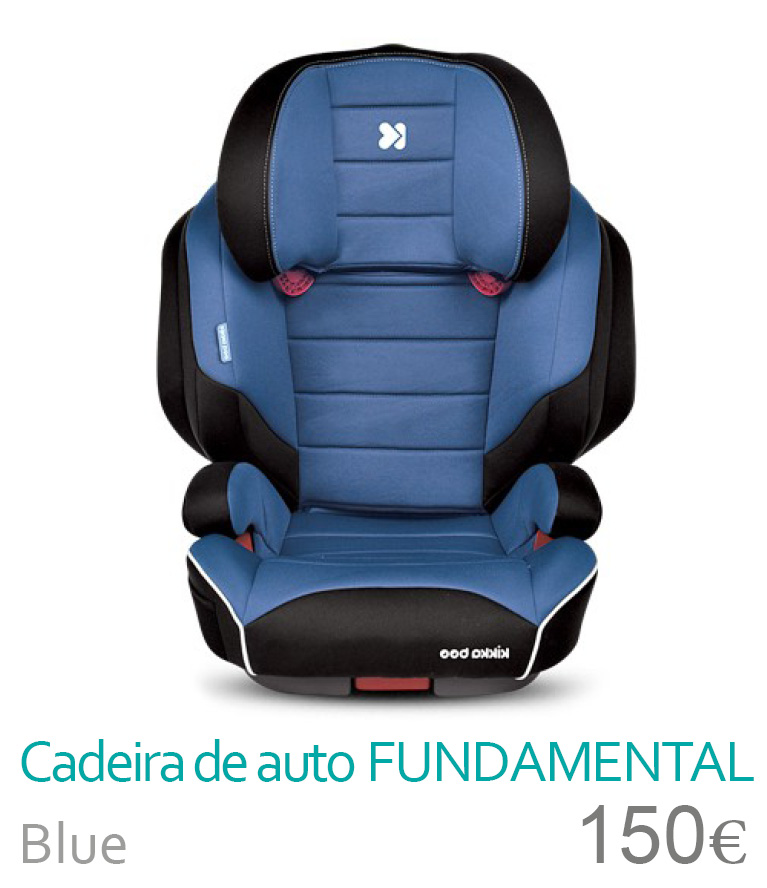 Cadeira de auto Fundamental 2/3 Blue