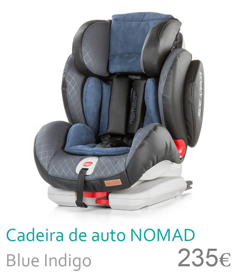 cadeira de carro nomad blue indigo