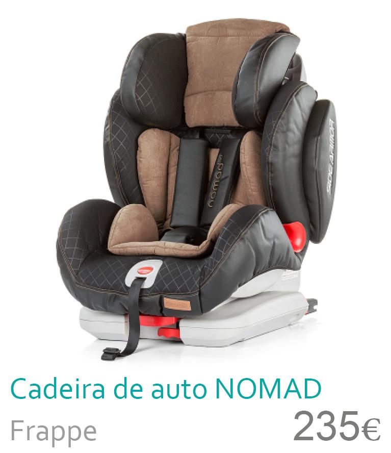 cadeira de carro 1/2/3 nomad frappe