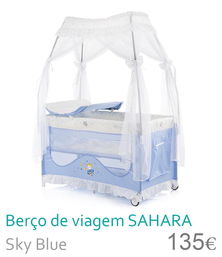 Bersp de viagem SAHARA Sky Blue