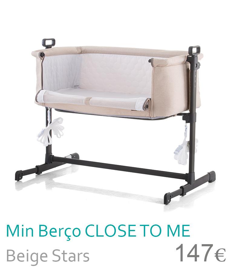 Mini berço CLOSE TO ME Beige Stars