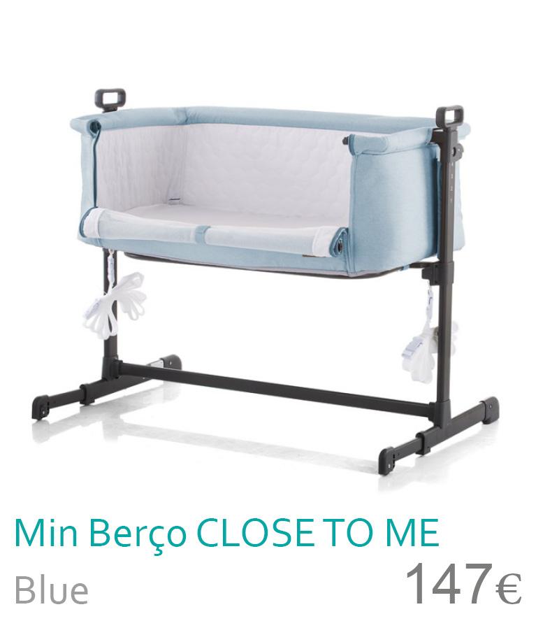 Mini berço CLOSE TO ME Blue