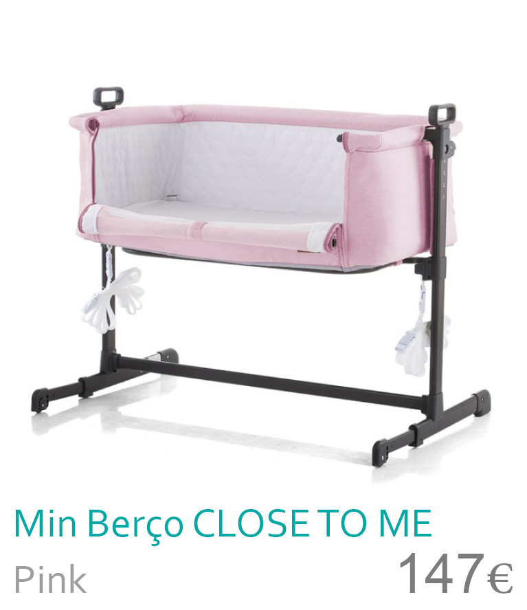 Mini berço CLOSE TO ME Pink