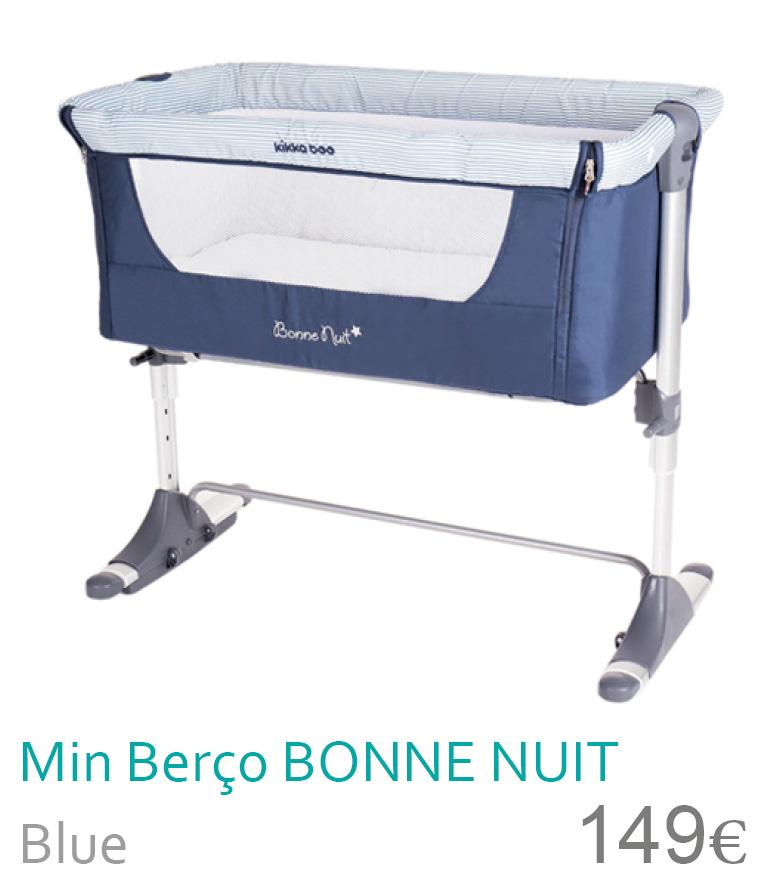 Mini berço colecho bonne nuit blue
