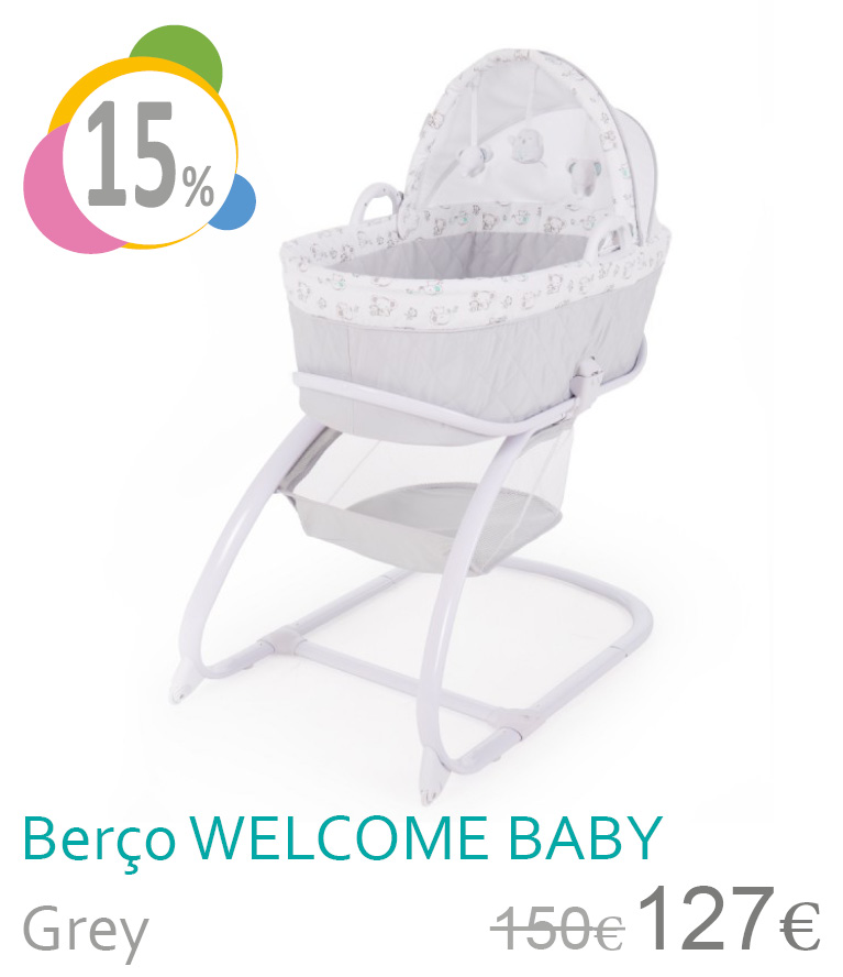 Berço WELLCOME BABY Grey