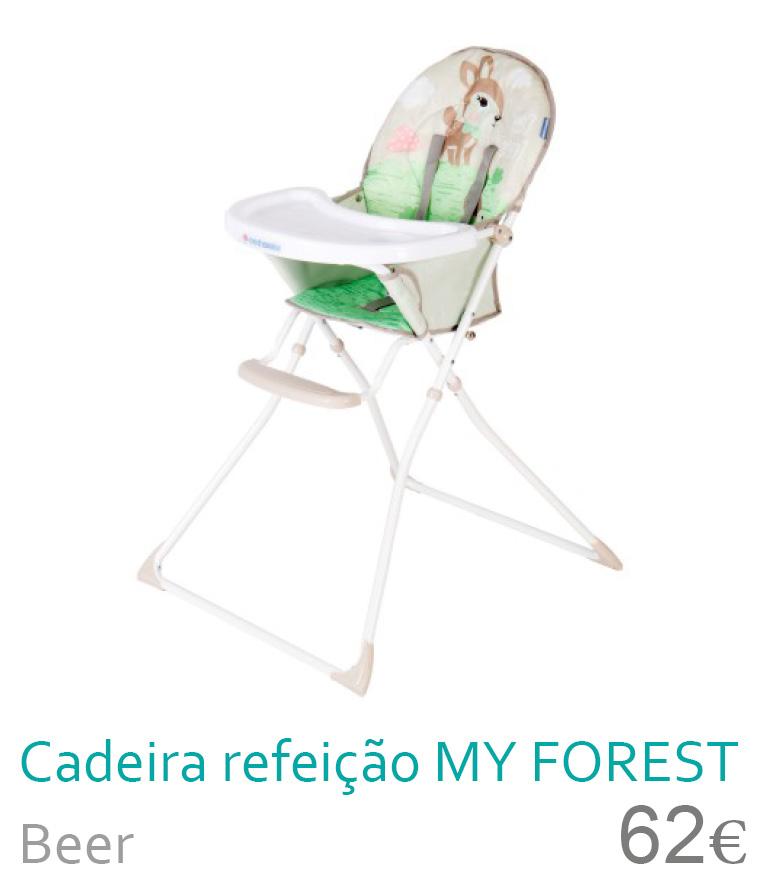 Cadeira de refeição my forest deer
