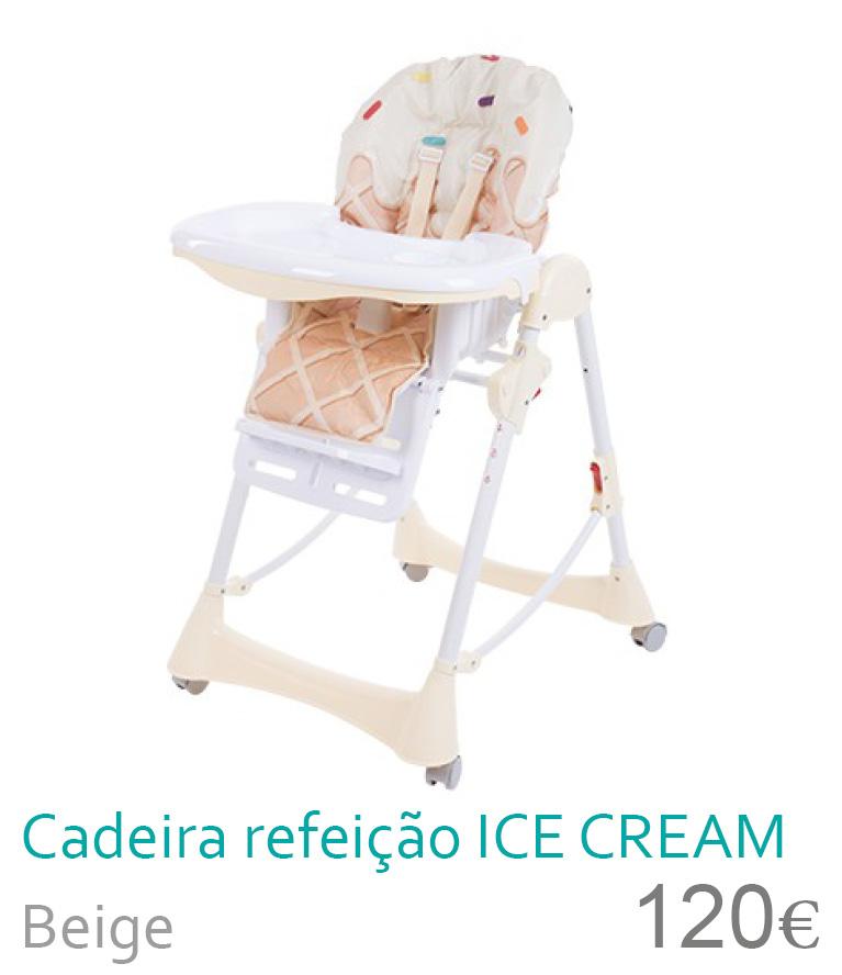 Cadeira de refeição ICE CREAM
