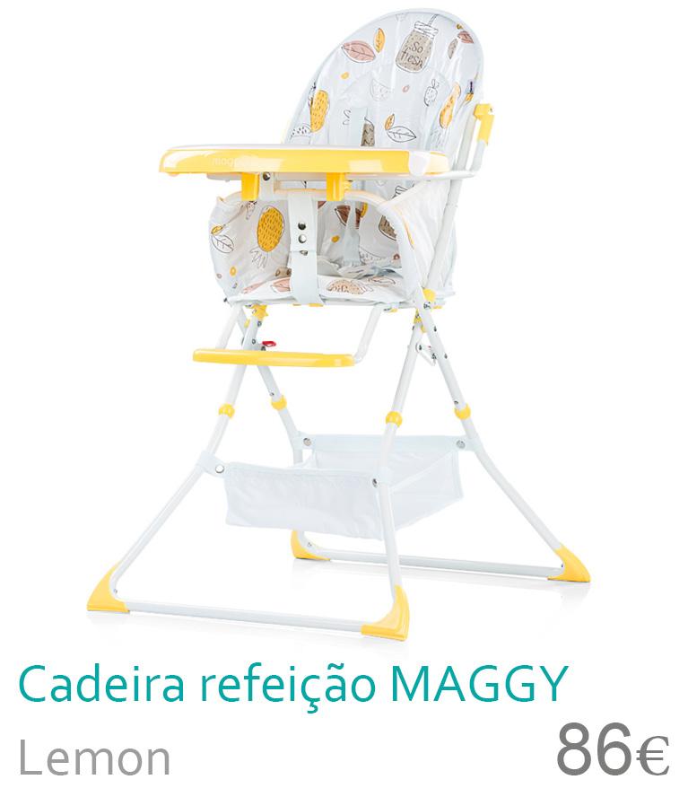cadeira de refeição maggy lemon