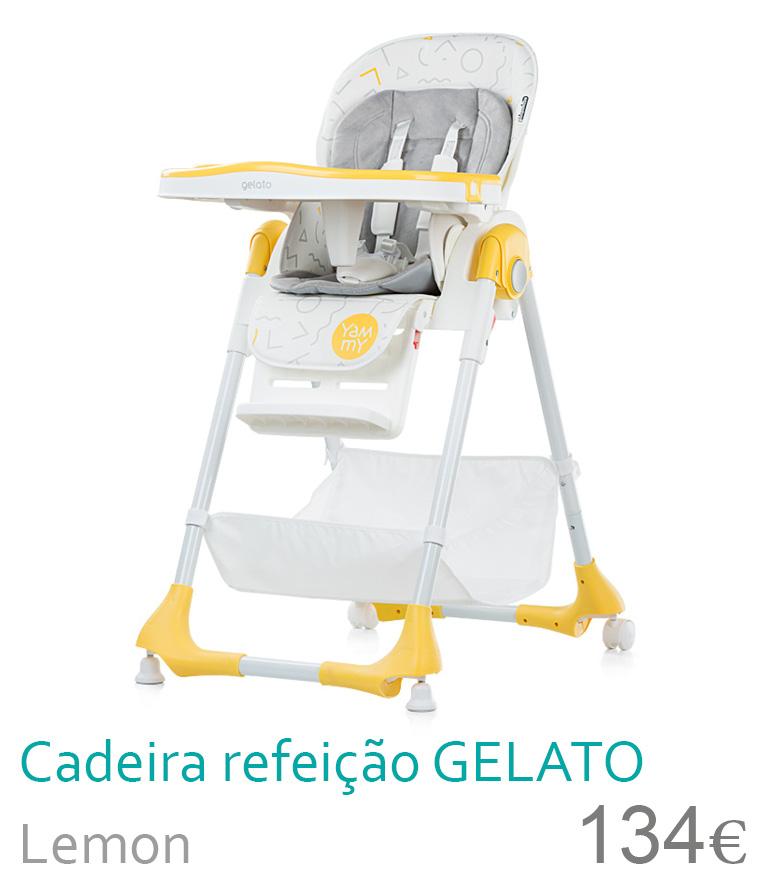 Cadeira de refeição Gelato Lemon