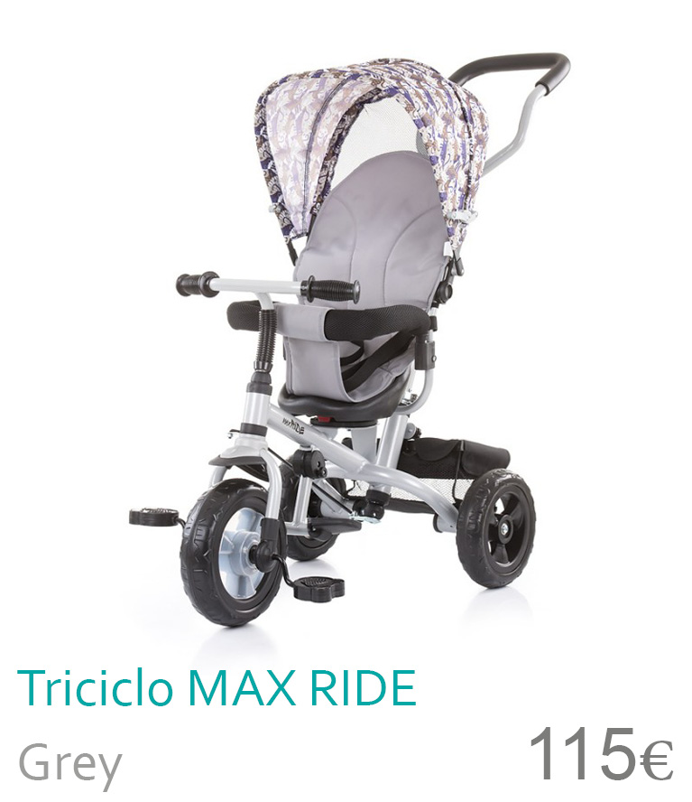 Trciclo MAX RiDE Grey