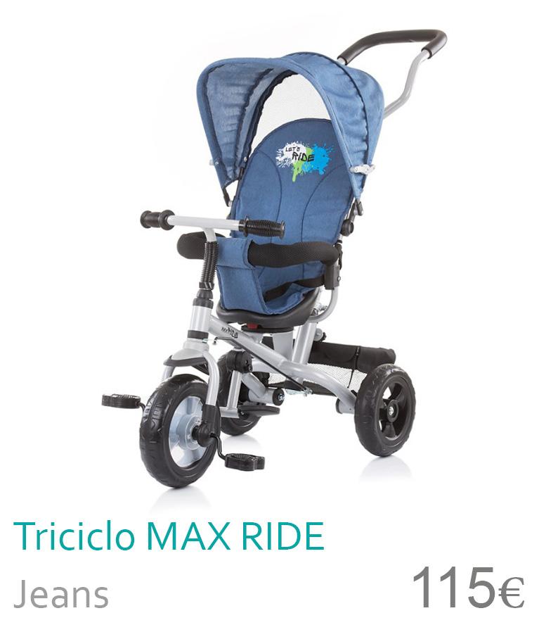Triciclo MAXRIDE Jeans