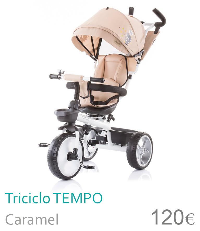 Triciclo TEMPOR Caramel