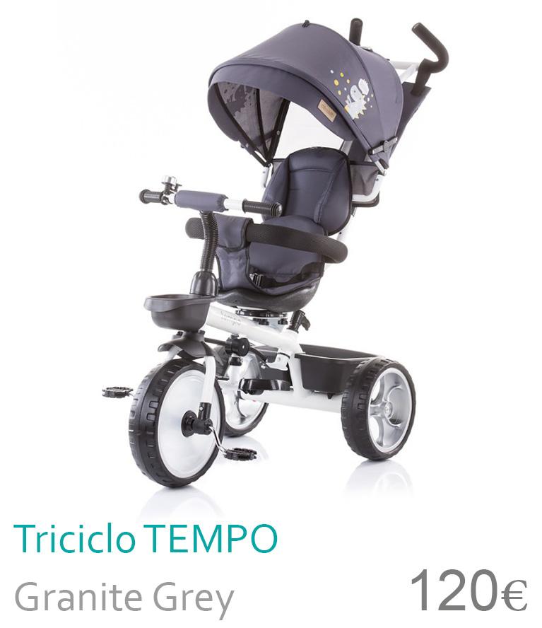 Triciclo TEMPO Granite Grey