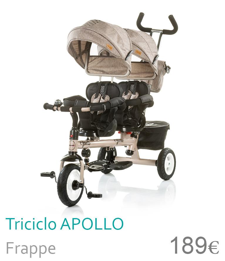 triciclo duplo apollo frappe