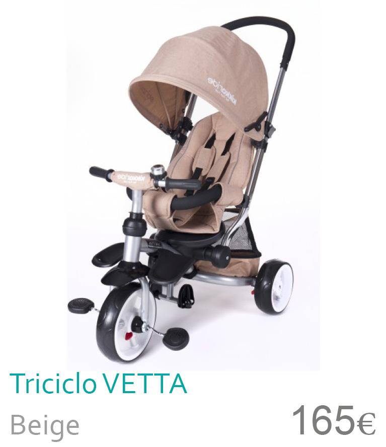 Triciclo Vetta Beige