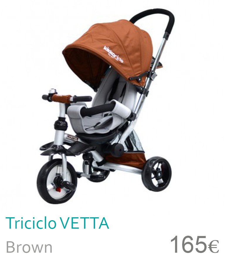 Triciclo Vetta Brown