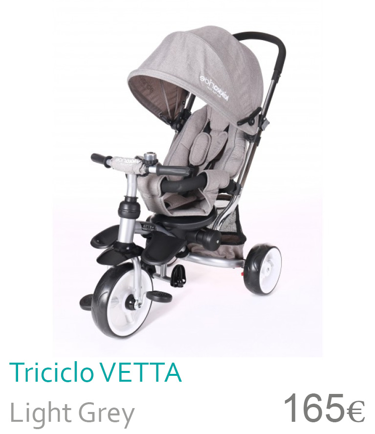 Triciclo Vetta Light Grey