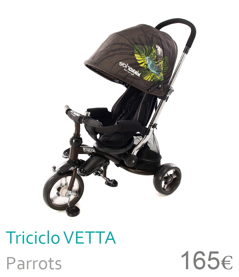 triciclo Vetta Parrots