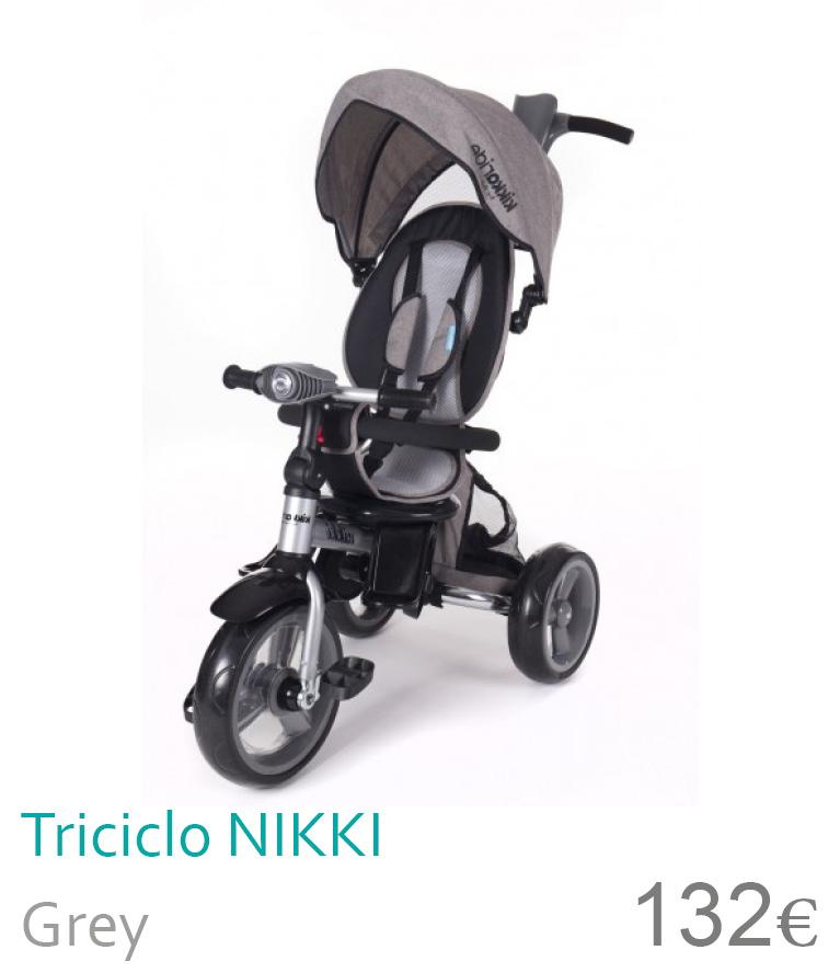 Triciclo NIKKI Grey