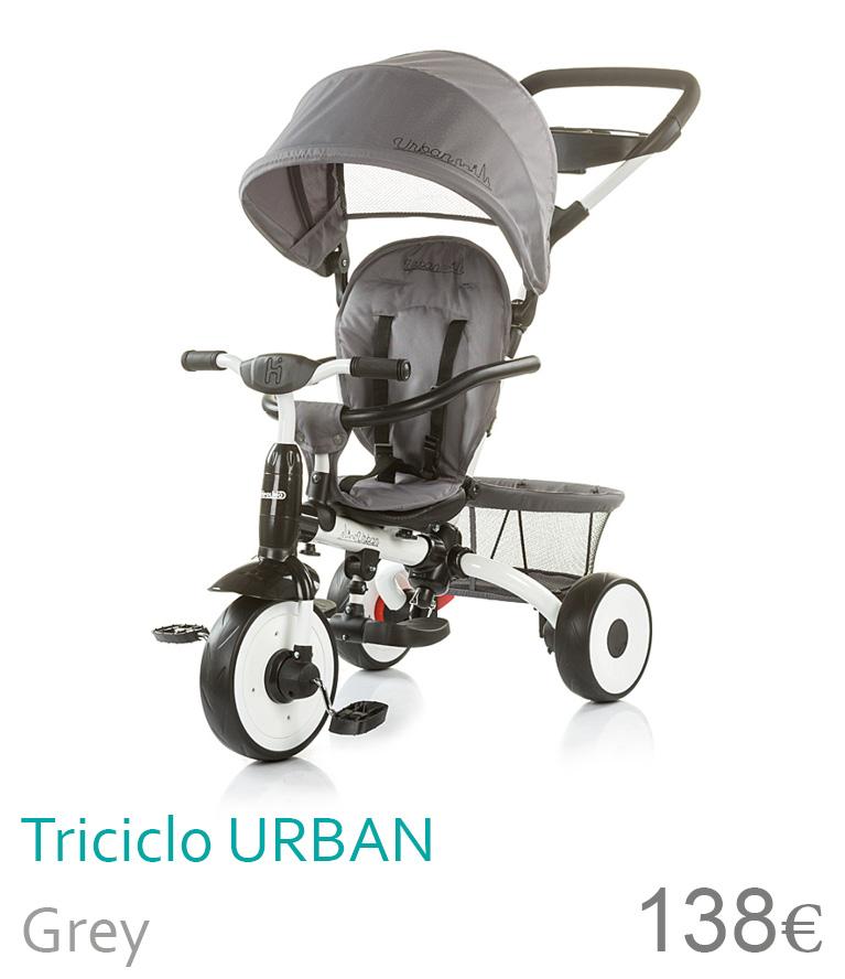 triciclo urban grey