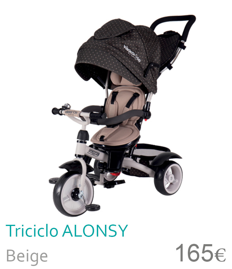 Triciclo Alonsy Beige