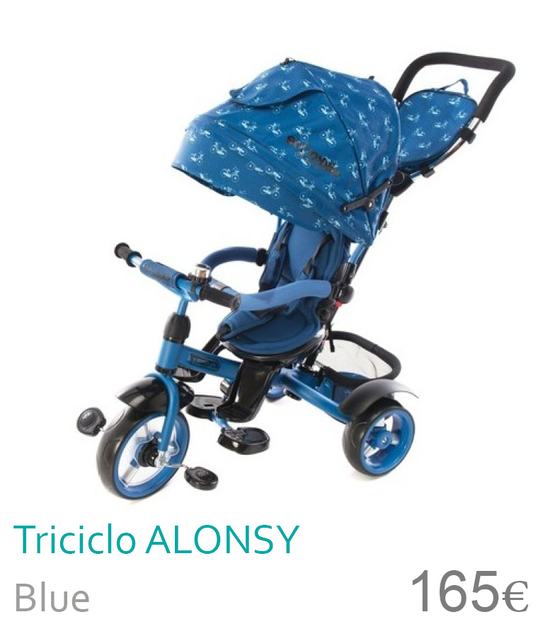 Triciclo Alonsy blue