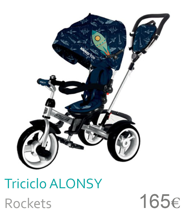 Triciclo ALONSY Rockets