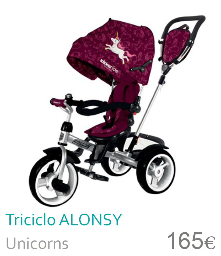 Triciclo ALONSY Unicorns