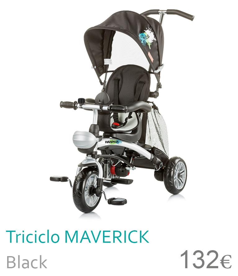 Triciclo MAVERICK Black