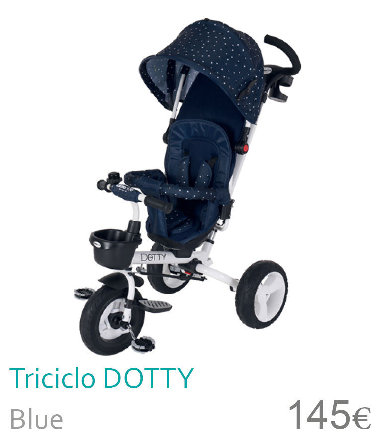Triciclo Dotty Blue