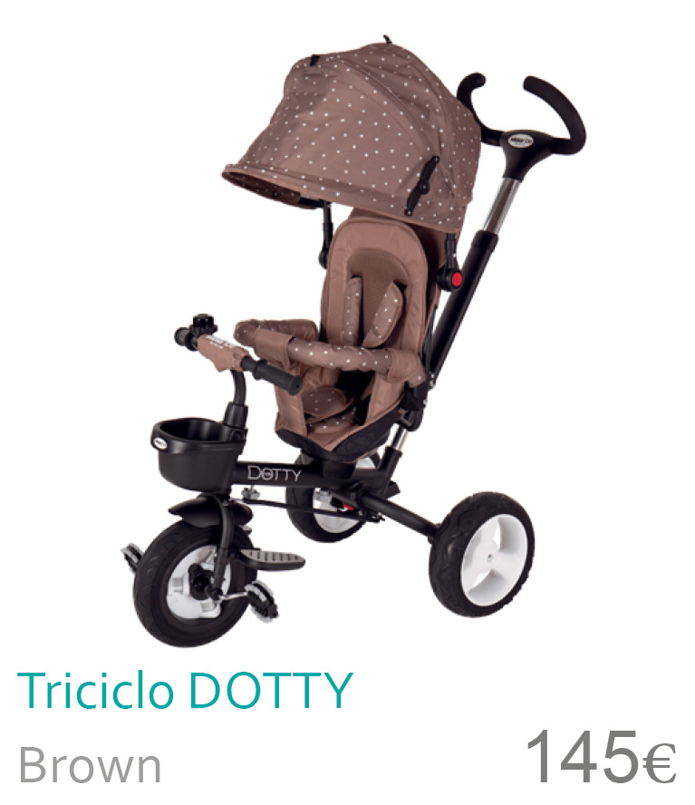 Triciclo Dotty Brown