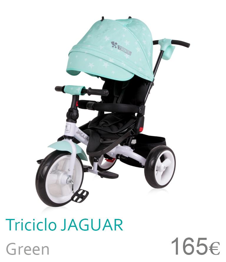 Triciclo JAGUAR Green