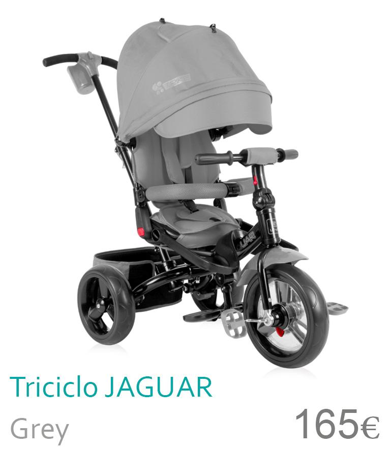 triciclo Jaguar grey