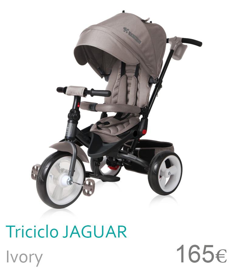 Triciclo JAGUAR Ivory