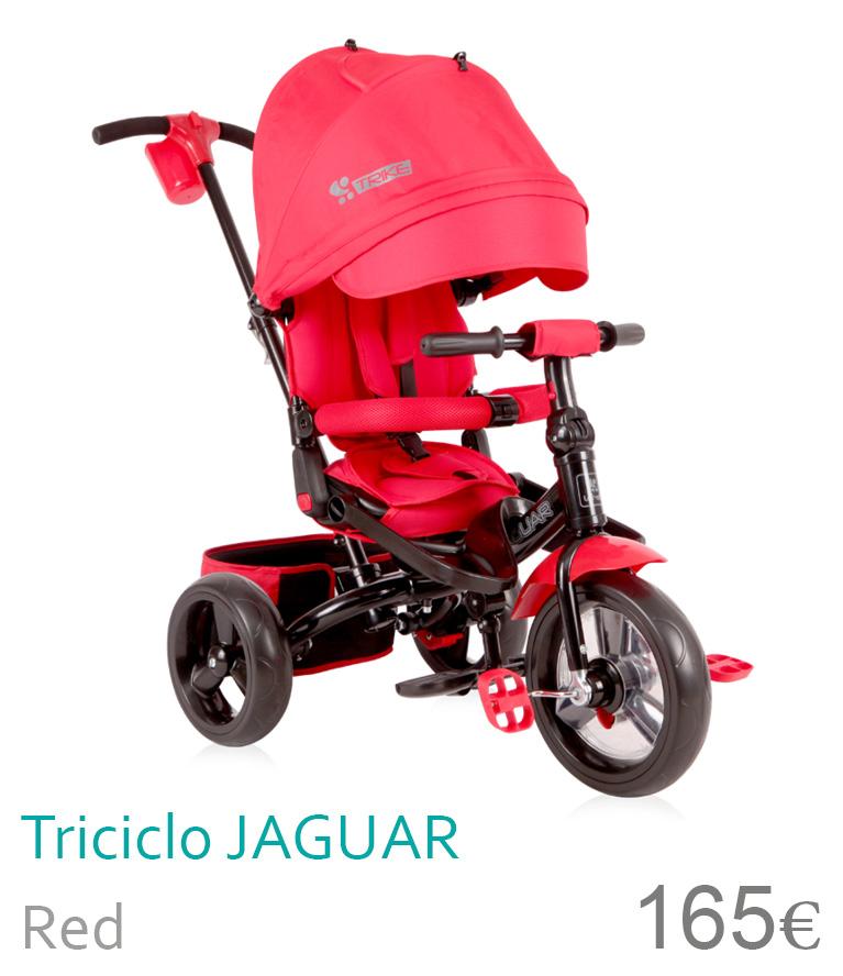 triciclo Jaguar Red