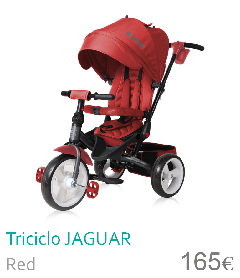 Triciclo JAGUAR Red