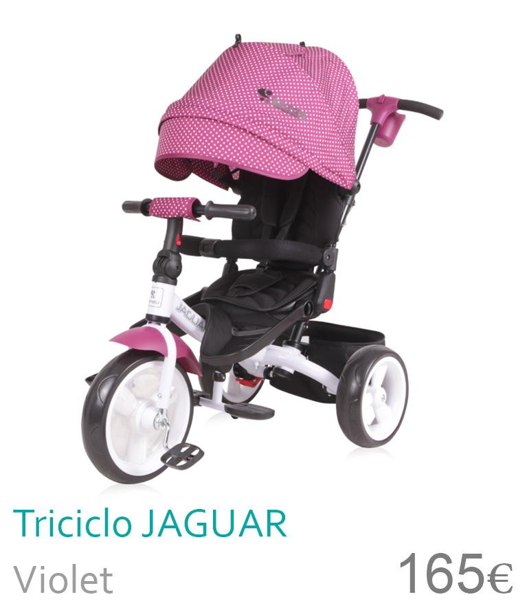 Triciclo JAGUAR Violet
