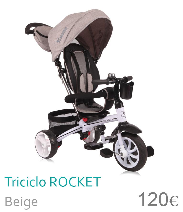 Triciclo ROCKET Beige
